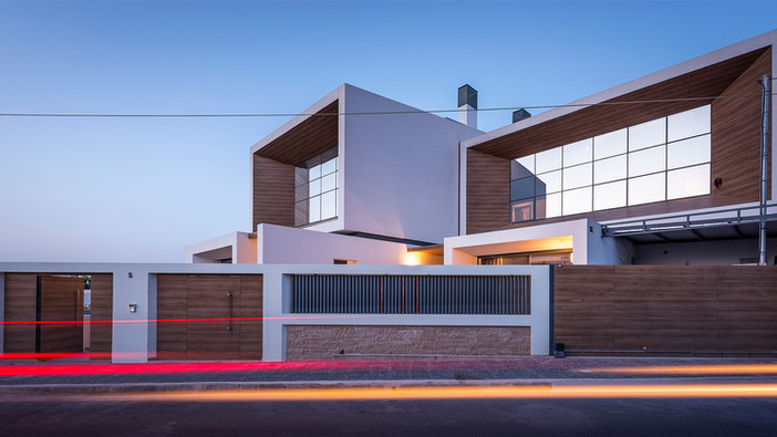 Project update - Koropi double residence by Office 25 Architects