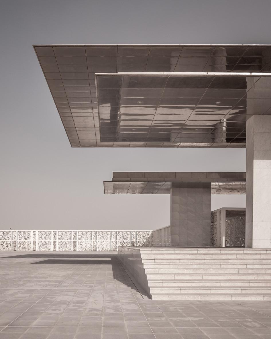 Ceremonial Court featured on Divisare Atlas of Architecture