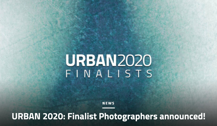 URBAN 2020 Finalists announced