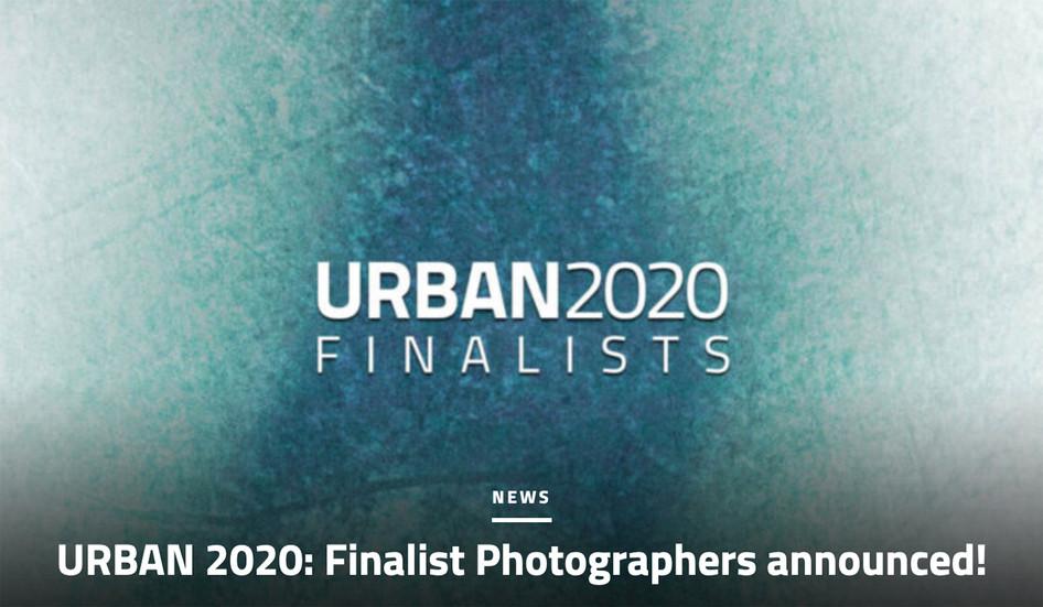 URBAN 2020 Finalists announced