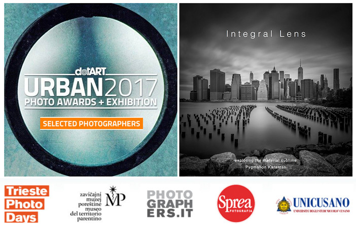 Selected photographer at the URBAN 2017 Photo Awards by Trieste Cultural Association dotART