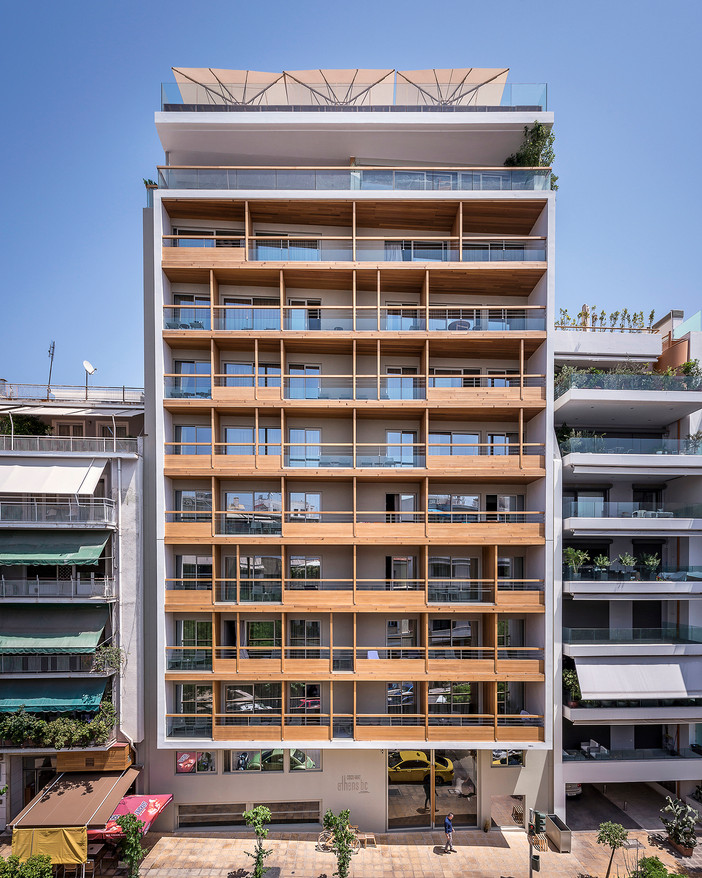 Project update - Coco-Mat Athens BC Hotel by Elastic Architects