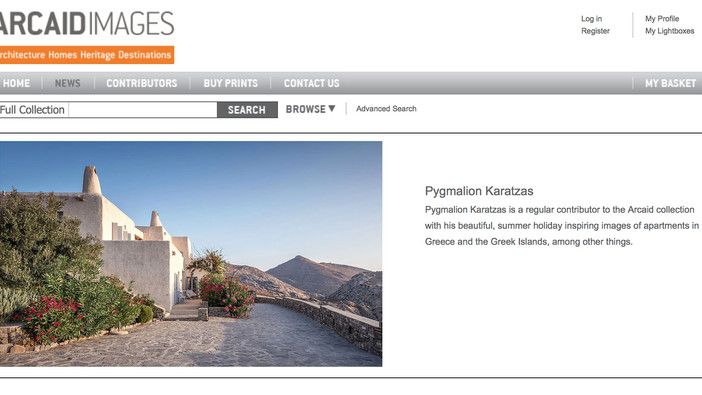 Villa Elxis featured on Arcaid Images