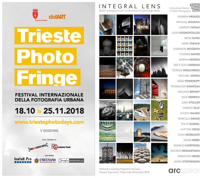 'Integral Lens' presentation at the Trieste Photo Days 2018