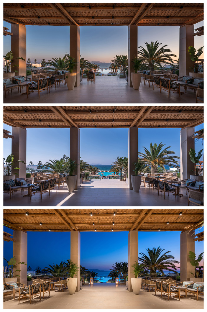 Project update - Mitsis Rinela Beach Resort by Elastic Architects added to the collection