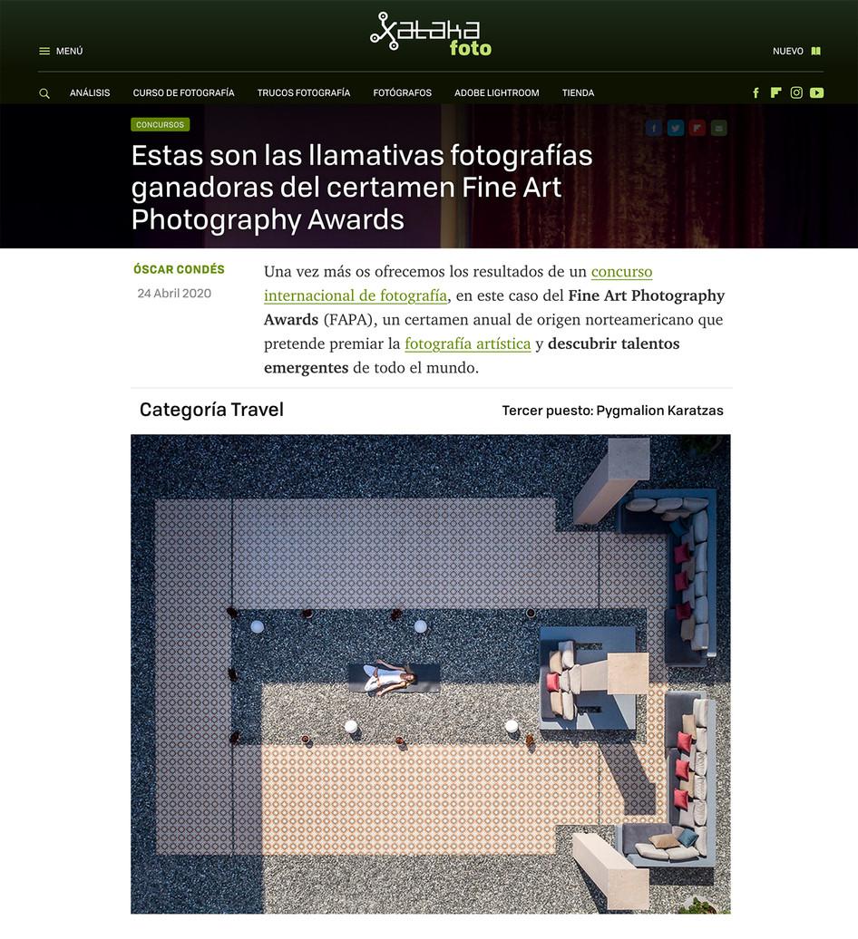 Xataka Foto covers FAPA 2020 winners