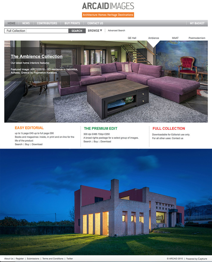 GD Residence featured on Arcaid Images Ambience Collection