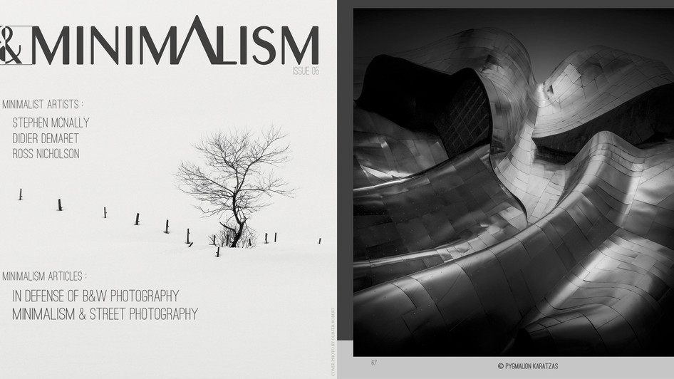 EMP Museum on B&W Minimalism Magazine