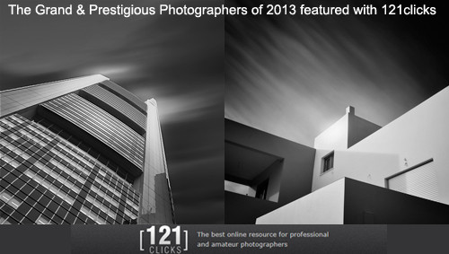 The Grand & Prestigious Photographers of 2013 featured with 121clicks