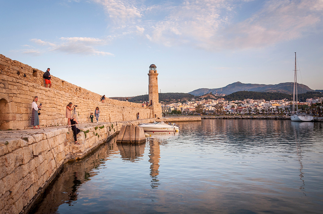 UTK Greece & Rethymno venetian port.jpg
