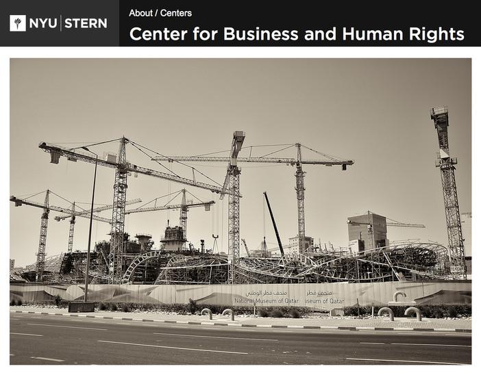 Doha photo-reportage on the NYU Stern Business School