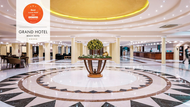 Mitsis Grand Hotel awarded at the Kayaka Hotel Awards 2020