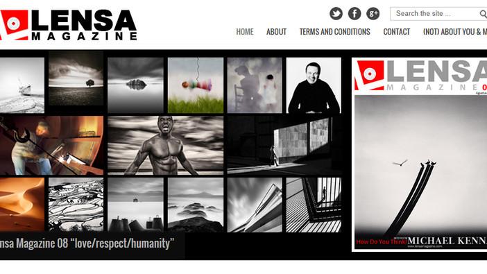 Lensa Magazine feature