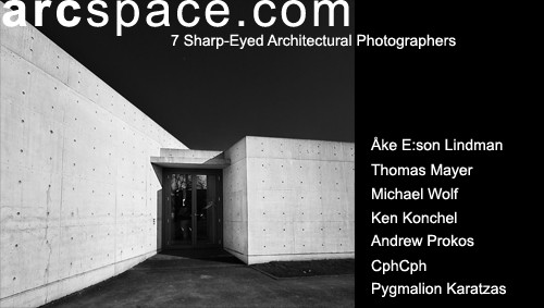 7 sharp-eyed architectural photographers featured in arcspace.com