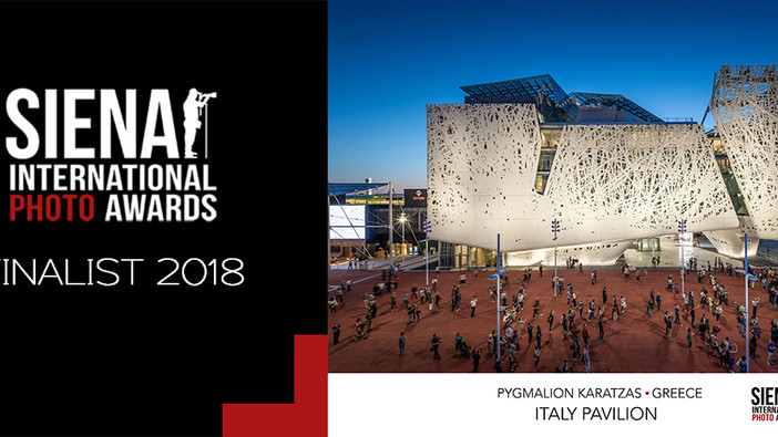 'Italy Pavilion' among the SIPA 2018 finalists