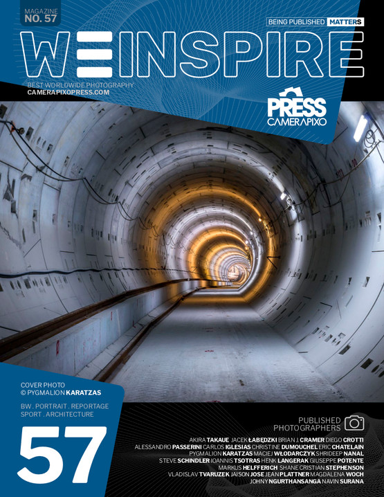 'Unearthed - Attiko Metro' cover story on We Inspire vol.57 magazine