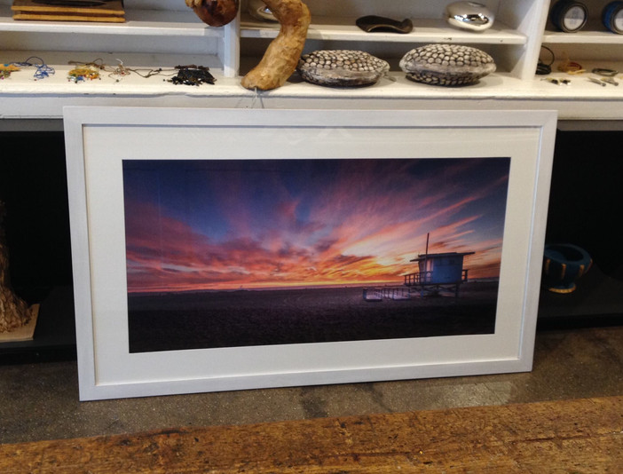 'Venice Beach sunset' finds its new home