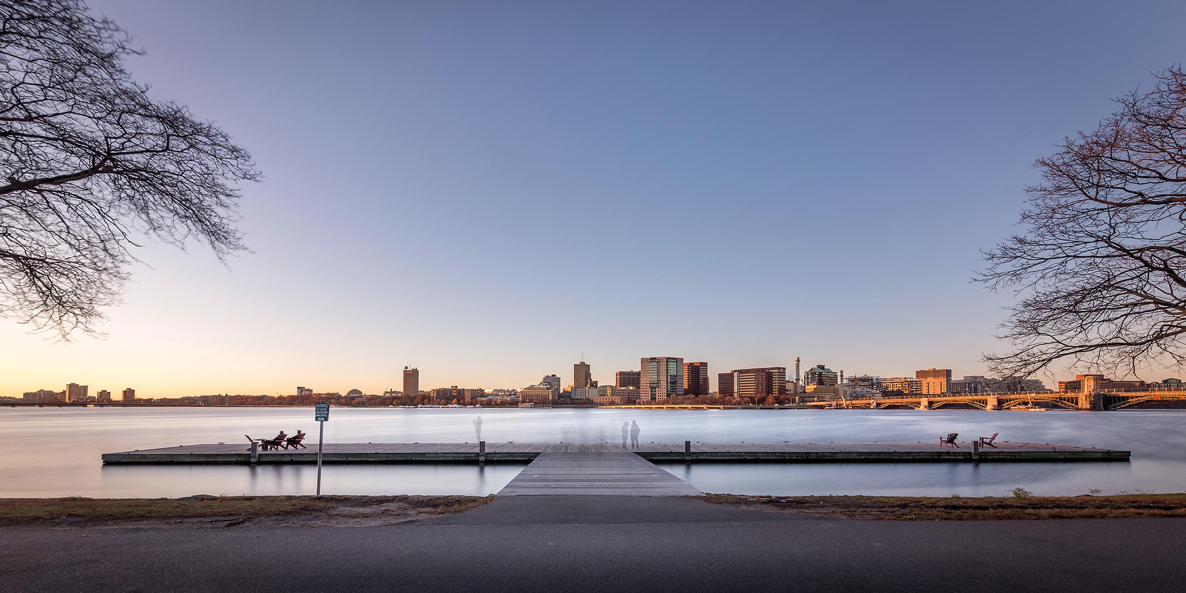 Charles River esplanade, Boston