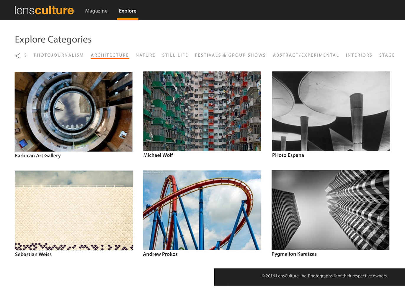 lensculture boomeritis feature MR