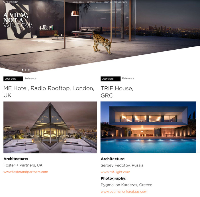 TRIF House featured on Sky-Frame World