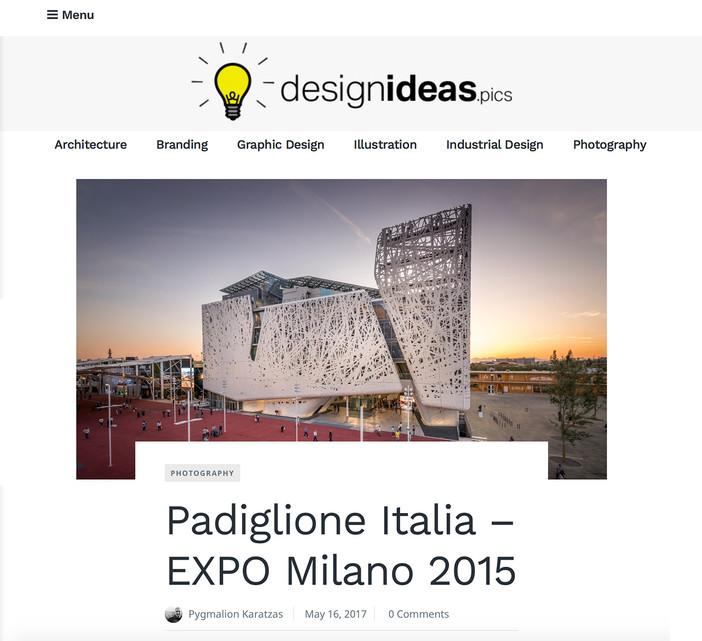 Padiglione Italia on Design Ideas
