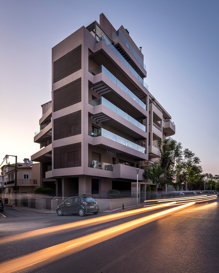 Photo shoot of the day - Apartment building in Heraklion Crete by Office 25 Architects