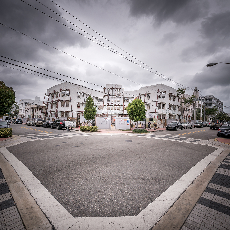 South Beach crossroad