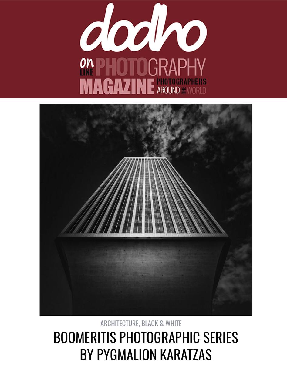 'Boomeritis' series featured on Dodho magazine