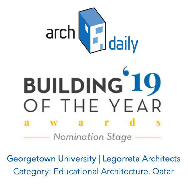 Archdaily BotY19 badge georgetown legorr