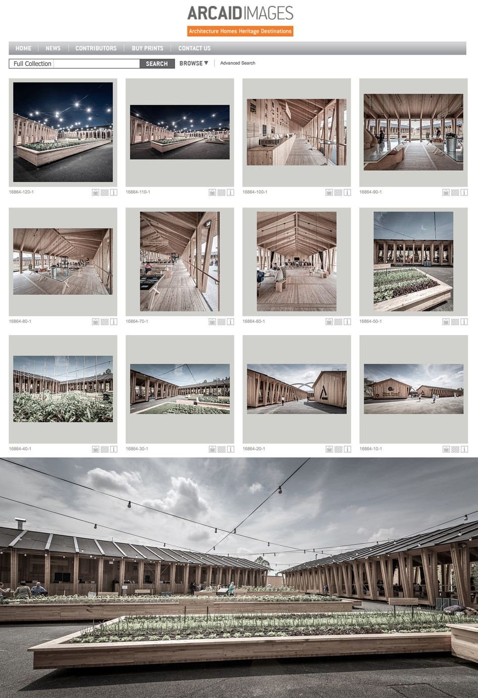 1000 images on ARCAID Architectural Photography Library
