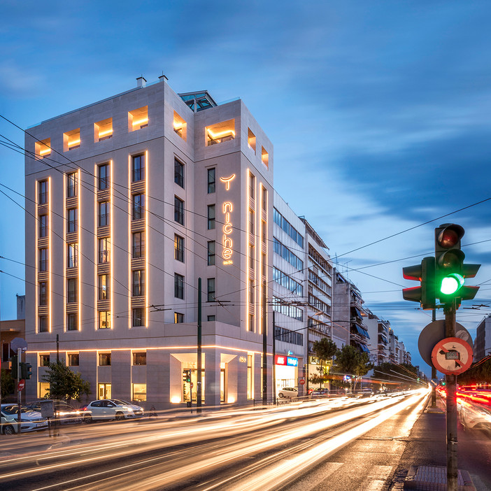 Niche Hotel Athens featured on Kataskeves Ktirion
