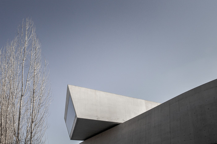 Project re-edits - MAXXI Museum Rome Italy