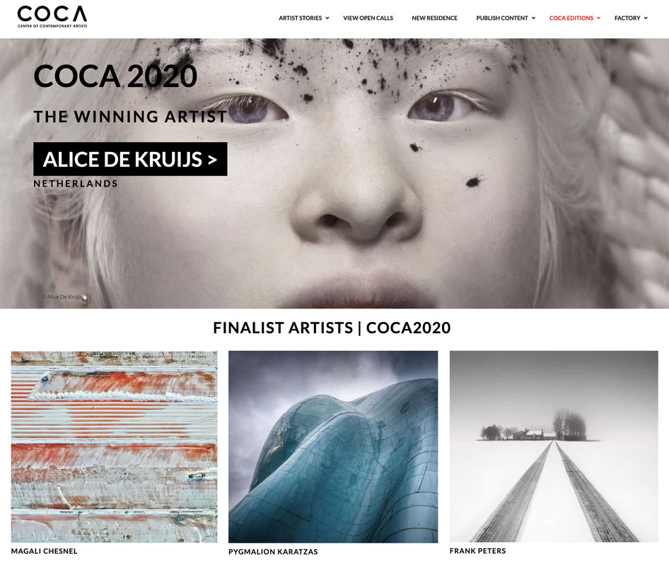 COCA 2020 winner and finalists announced