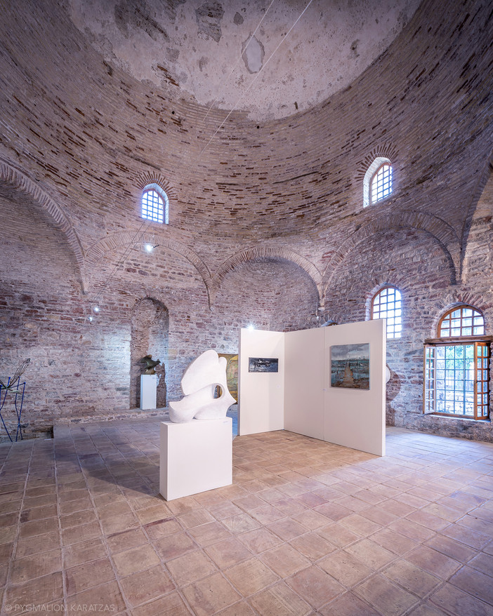 Project update - 'Lagoons' exhibition at Fethiye Mosque in Nafpaktos