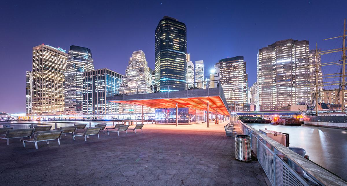 East River Esplanade, New York