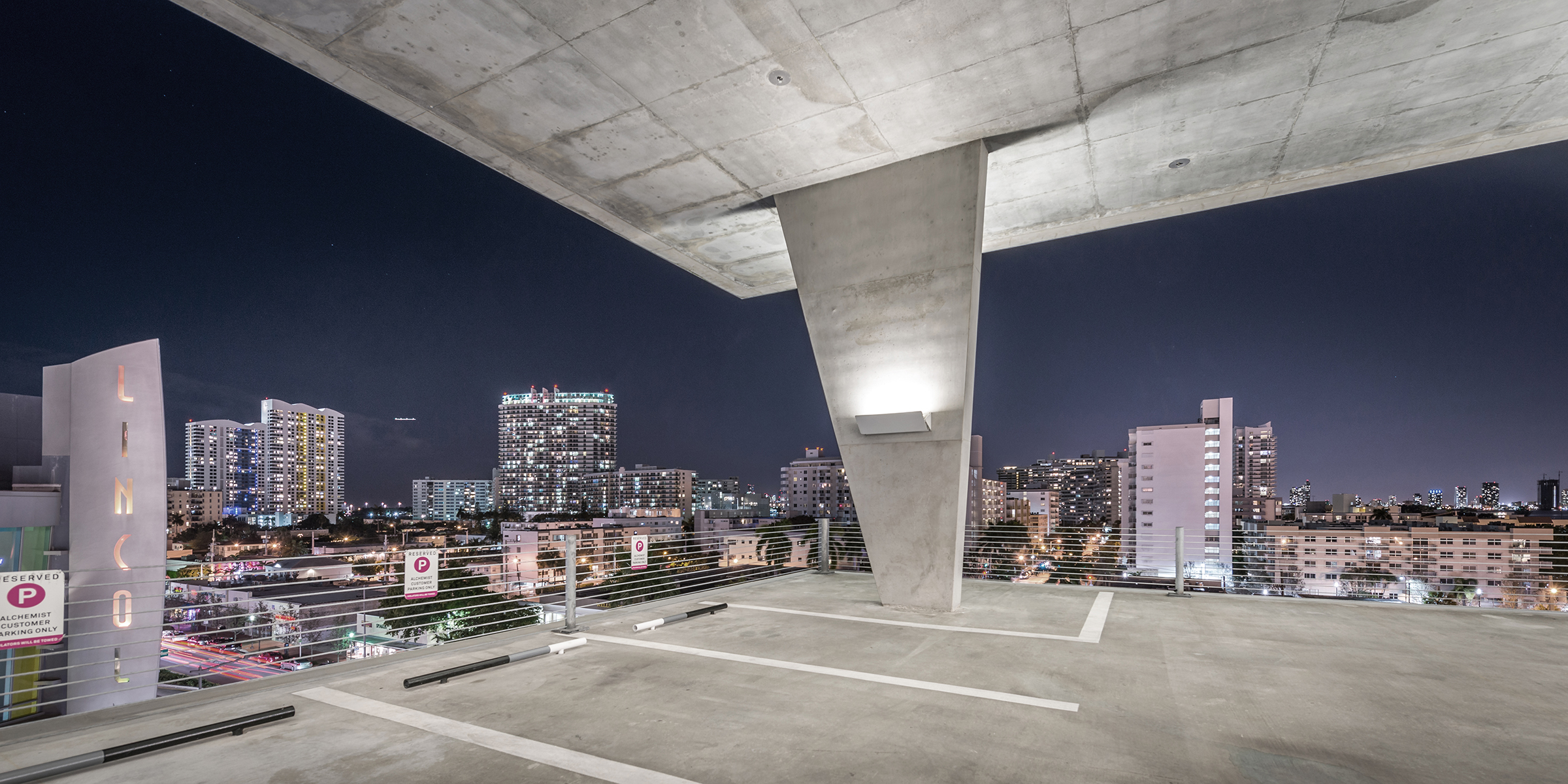 Lincoln parking, Miami Beach