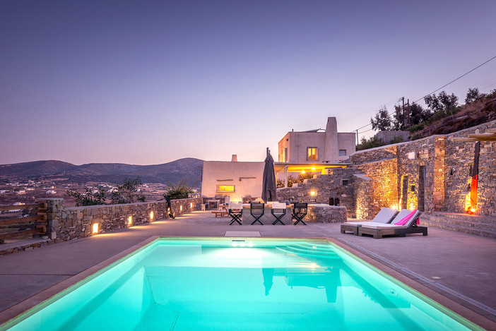 Project update - Villa Elxis in Paros Island