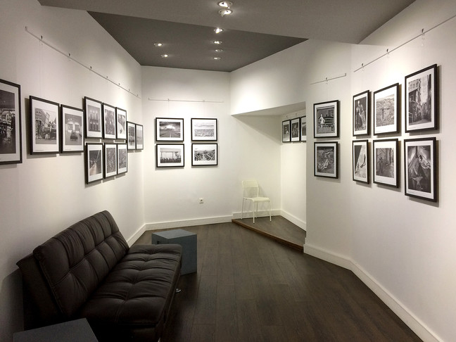 Monochrome exhibition at The Blank Wall Gallery