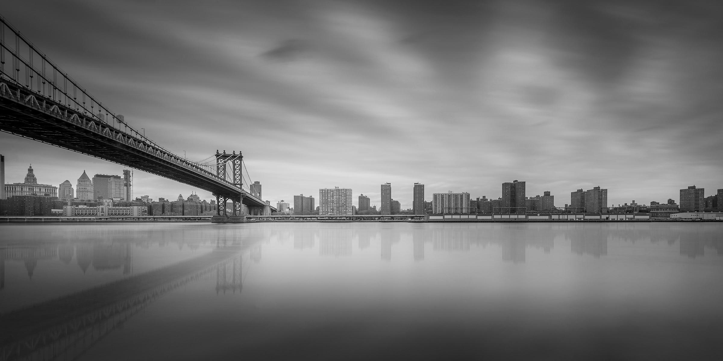 NY East river manhattan bridge