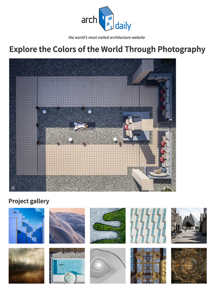 ICA 2020 images featured on Archdaily