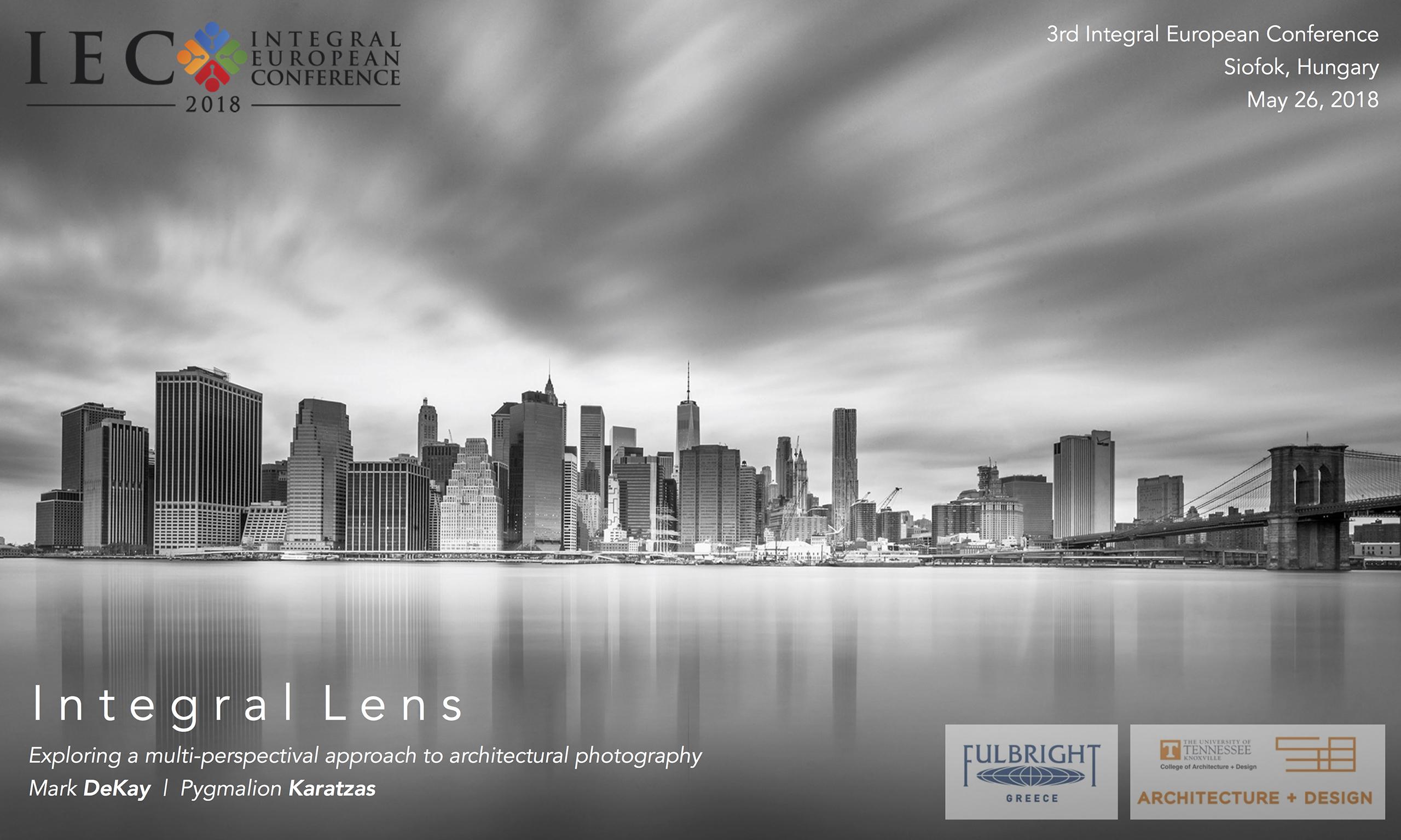 'Integral Lens' presentation