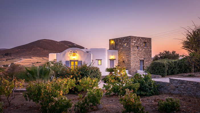 Project update - Holiday house in Paros Island