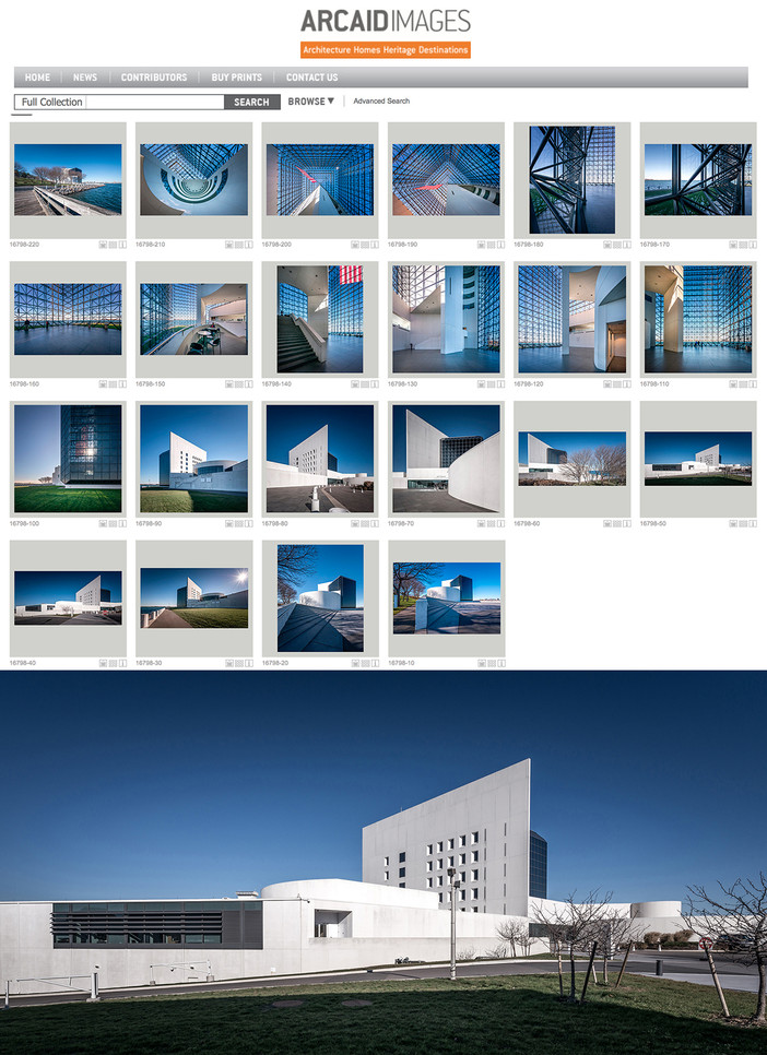 JFK Presidential Library & Museum on Arcaid Images