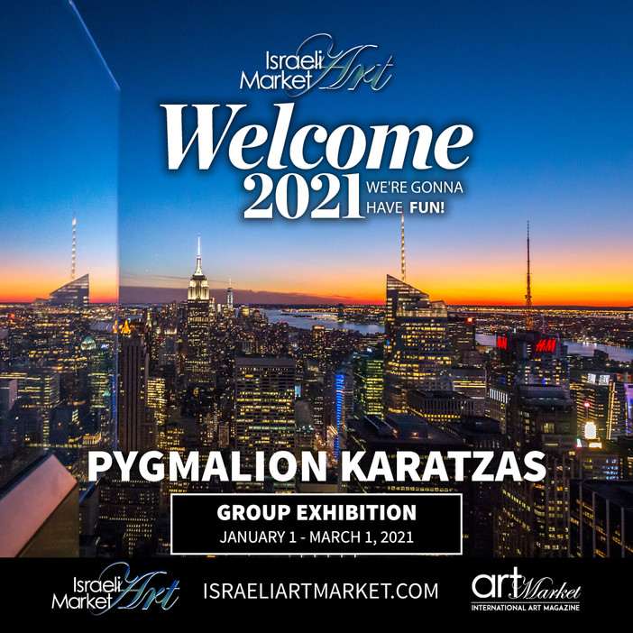 Participation in the 'Welcome 2021' exhibition hosted by Israeli Art Market