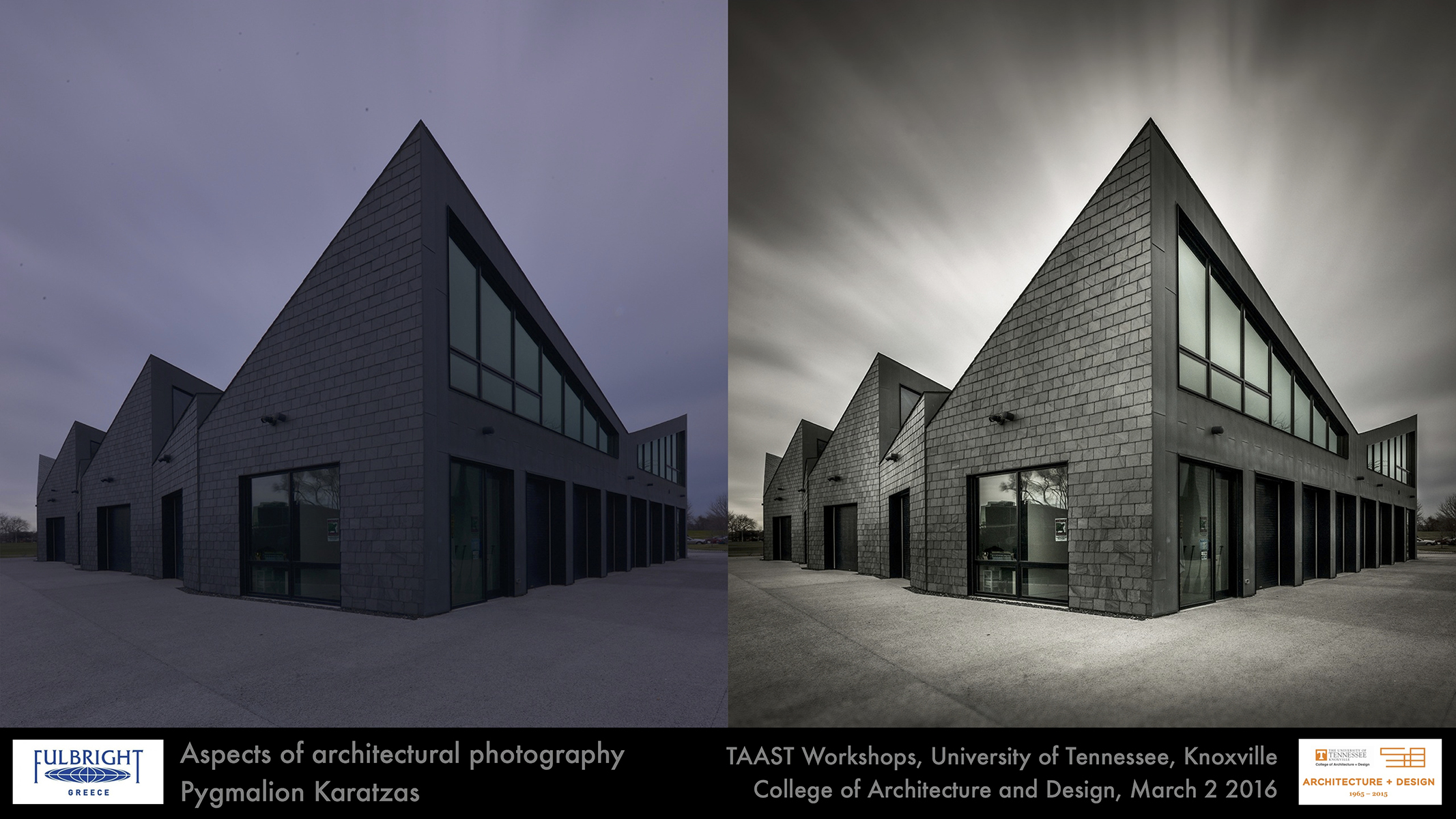 Architectural photography workshop