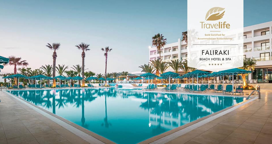 Gold Certified for Accommodation Sustainability for Mitsis Hotels