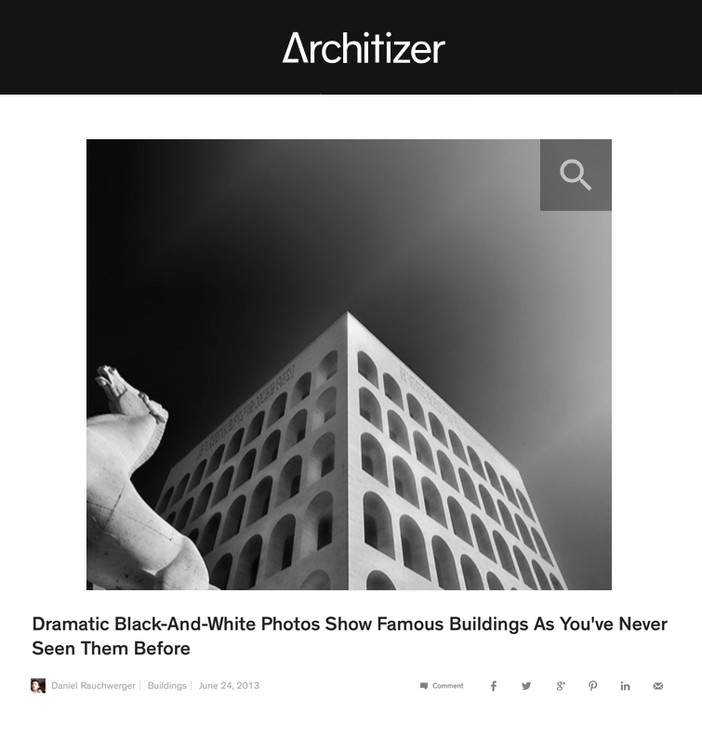 A feature on Architizer.com