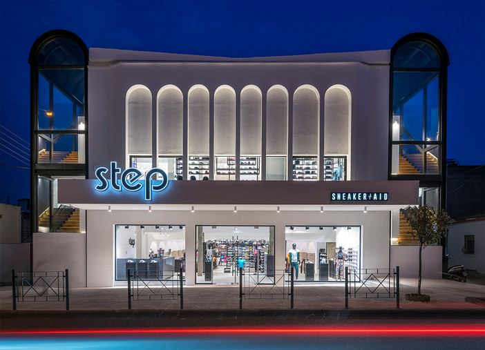 Photo shoot of the day - Step Sneaker Aid by Leaf Architects