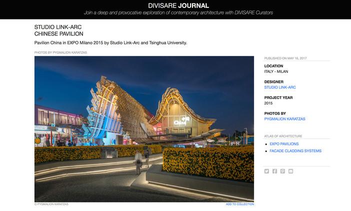 Pavilion China on Divisare Atlas of Architecture