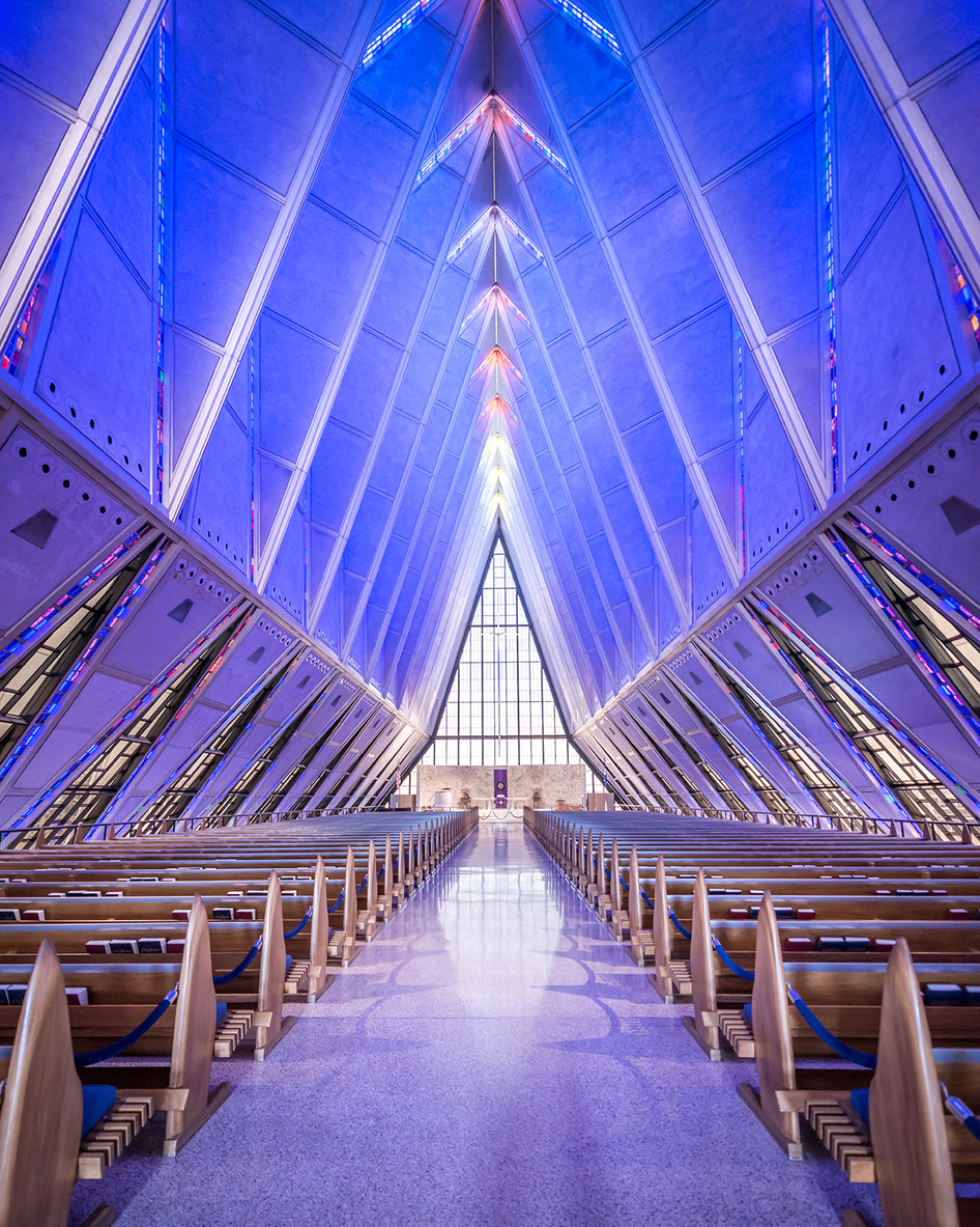 Project update - Cadet Chapel in Colorado Springs by SOM